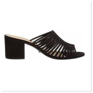 Schutz Cecilia Open Toe Casual Mule Sandals Slides